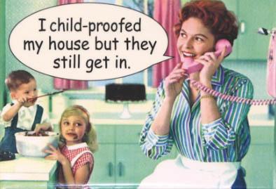 child-proofed